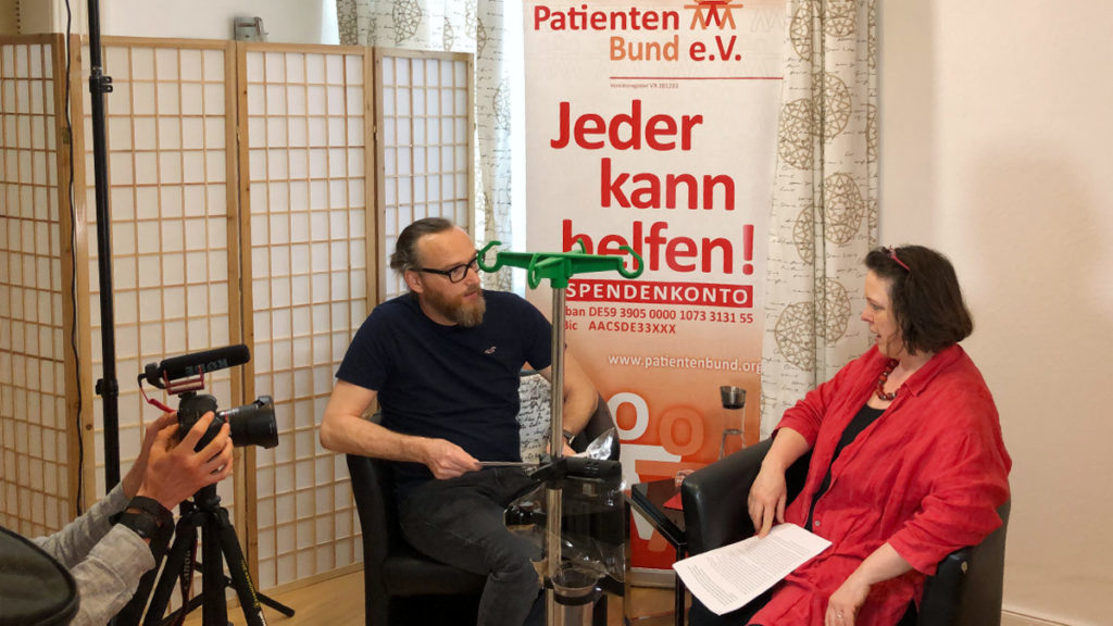 Patientenbund in der Video-Session