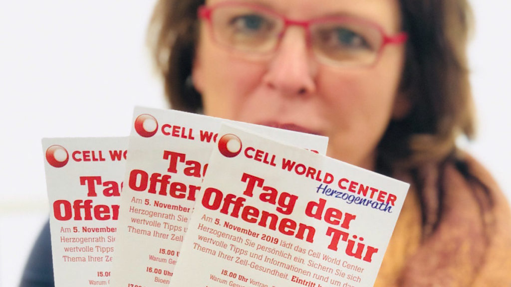 Tag der Offenen Tür im Cell World Center