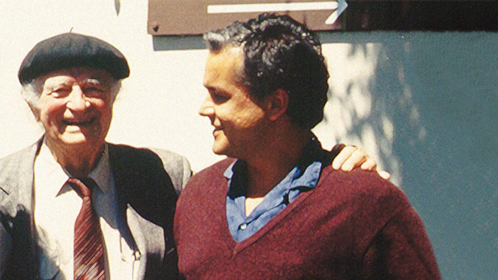 Linus Pauling und Matthias Rath in freundschaftlicher Verbundenheit