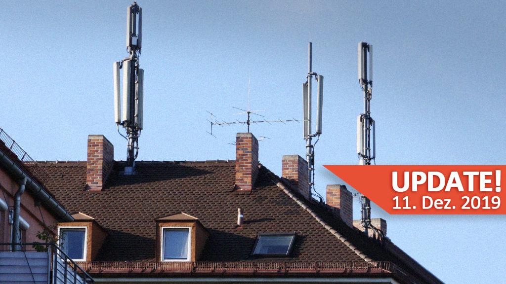 Strahlender Mobilfunk - Nur in Deutschland ungefährlich? Update 11. Dezember 2019